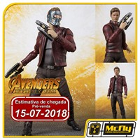 (RESERVA 10% DO VALOR) S.H Figuarts Star Lord Avengers Infinity War
