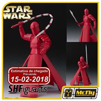 (RESERVA 10% DO VALOR) S H Figuarts Star Wars Elit Guardian Whip The Last Jedi