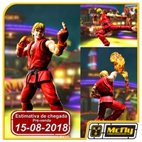 (RESERVA 10% DO VALOR) S.H Figuarts Street Fighter Ken Bandai