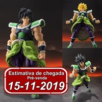 (RESERVA 10% DO VALOR) S.H Figuarts Super Broly Dragon Ball