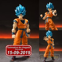 (RESERVA 10% DO VALOR) S.H Figuarts Super Goku God Dragon Ball