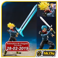 (RESERVA 10% DO VALOR)S.H Figuarts Trunks do Futuro Dragon Ball Super 28/02