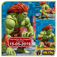 (RESERVA 10% DO VALOR)S.H Street Fighter Blanca BANDAI Blanka