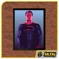 Quadro Poster Superman / Man of Steel 30x42