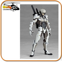 Revoltech Raiden White 140 EX METAL GEAR RISING REVENGEANCE