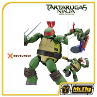 Revoltech Raphael Tartarugas Ninjas Heloris Mutantes Turtles