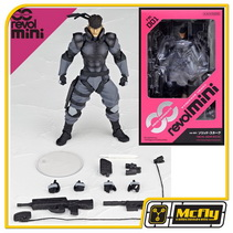 RevolMini 001 Solid-Snake METAL GEAR SOLID Revoltech