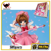 S.H Figuarts Sakura Kinomoto Sakura card Captor