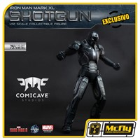 Comicave Iron Man 3 Shotgun Mark XL Diecast Metal 1/12, Mark 40