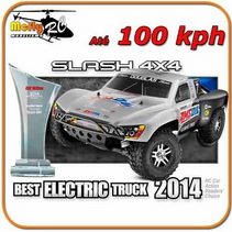 Radio Controle Traxxas Slash 4x4 2.4ghz 70mph Scott Edition