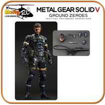 SNAKE Metal Gear Solid V Ground Zeroes Play Arts Kai Square Enix