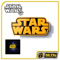 Luminária 3D Light FX Star Wars Logo com LED