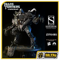 Sideshow Starscream Transformers Prime 1 Studio