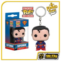 FUNKO POP Keychain: DC - Chaveiro Superman
