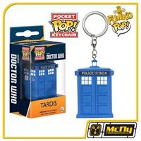 FUNKO POP Keychain: Doctor Who - Tardis Chaveiro