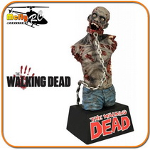 The Walking Dead Zombie Bust Cofre para moedas