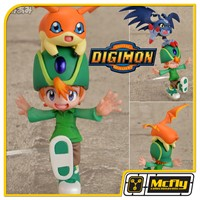 DIGIMON Takaishi Takeru & Patamon MEGA HOUSE G.E.M