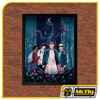 Quadro Poster Stranger Things 30x42