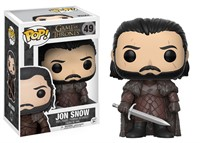 Pop Funko 49 Jon Snow - GOT - Game of Thrones
