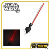 Luminária 3D Light FX Star Wars Sabre Darth Vader com LED