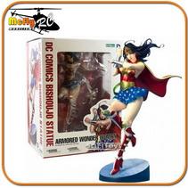 KOTOBUKIYA Amored Wonder Woman BISHOUJO Mulher maravilha