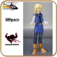 S.H. Figuarts Androide 18 Dragon Ball Z numero 18
