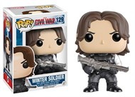 Pop Funko 129 Winter Soldier - Civil War