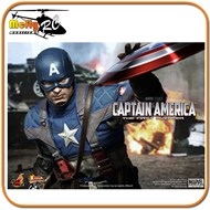 Hot Toys The First Avenger Capitão America Chris Evans
