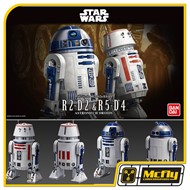 Star Wars R2-D2 e R5-D4 Astromech Droids Model Kit 1/12 Bandai