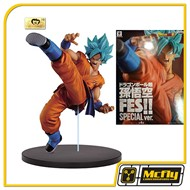 Banpresto Fes Goku God Special Ver Dragon Ball