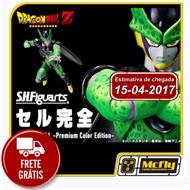 (Reserva 10% do valor)Frete Grátis S.F Figuarts Perfect Cell Premium Color edition Dragon Ball Z
