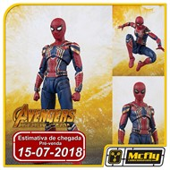 (RESERVA 10% DO VALOR)S.H Figuarts Iron Spider Spider Man Avengers Infinity War