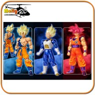 Dragon Ball Z Son Goku + Vegeta + GOD