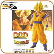 Dragon Ball Z Son Goku D.O.D Megahouse Son Gokou Super Daiyan