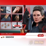 Hot Toys STAR WARS THE LAST JEDI Leia Organa MMS459 Action Figure