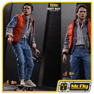 Hot toys BACK TO THE FUTURE MARTY MCFLY MMS257
