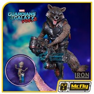 Iron Studios GOTG 2 Rocket & Groot  1/10 BDS Art Scale