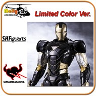 S.H Figuarts Iron Man Mark 6 Black Color Ver, limitada