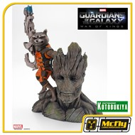 Kotobukiya Rocket Raccon e Groot Guardians of the Galaxy Guadioes das Galaxias