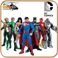 Liga Da Justiça Justice League 7 Pack Box Set New 52 - Dc