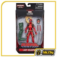 Marvel Legends Lady Deadpool Dr Karl Lykos Sauron hasbro