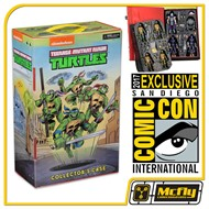 NECA COLECTOR'S CASE TMNT Teenage Mutant Ninja TURTLES SDCC 2017