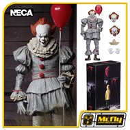 NECA IT Pennywise Figure I.T Pennywise Balloon Paper boat
