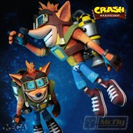 Neca Deluxe Crash Bandicoot Jet Pack Action Figure