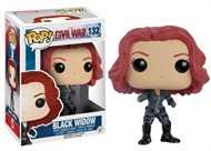 Pop Funko 132 Black Widow - Civil War