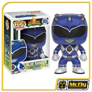 POP Funko 363 Blue Ranger Power Rangers Mighty Morphin