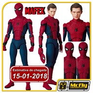 (RESERVA 10% DO VALOR)  MAFEX SPIDER MAN HOMECOMING Ver Tom Holland