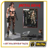 Play Arts Reveals MGS V: The Phantom Pain Quiet Metal Gear