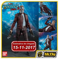 (RESERVA 10% DO VALOR) S.H Figuarts Star Lord Guardians Of The Galaxy Vol 2