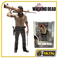 THE WALKING DEAD Rick Grimes DELUXE VERSION 25 cm